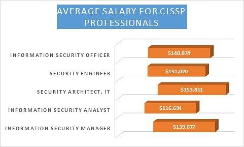 Average Salary for CISSP Professionals