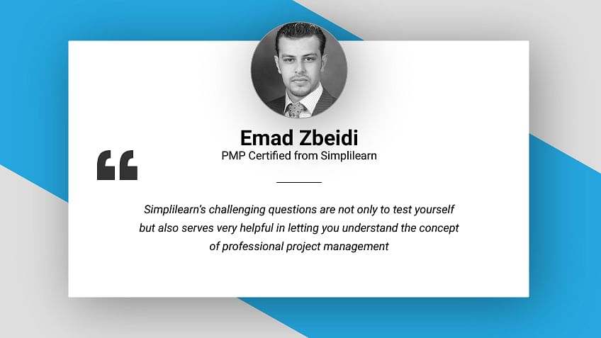 Student Spotlight - E-mail Interview with Mr. Emad Zbeidi, PMP