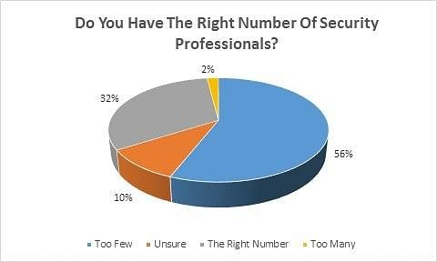 Right Number of Security Professionals