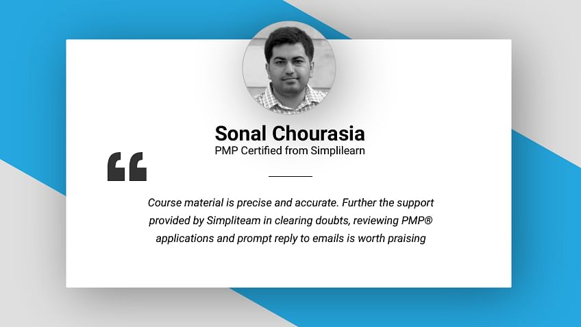 Achieving a PMI® PMP® Credential: An e-mail interview with Mr. Sonal Chourasia, PMP® from Mumbai, India
