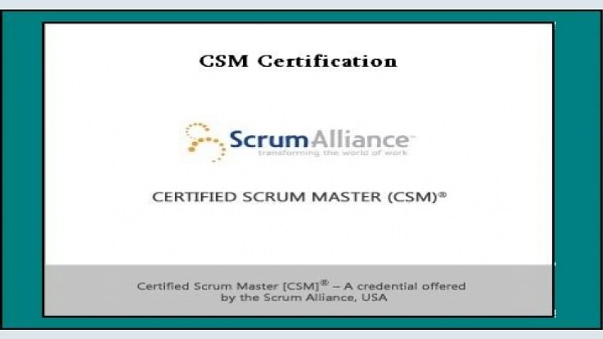 certified scrum master (csm) certification - scope and significance