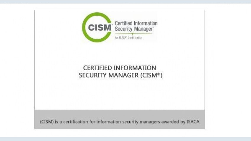 Certificação Certified Information Security Manager (CISM)