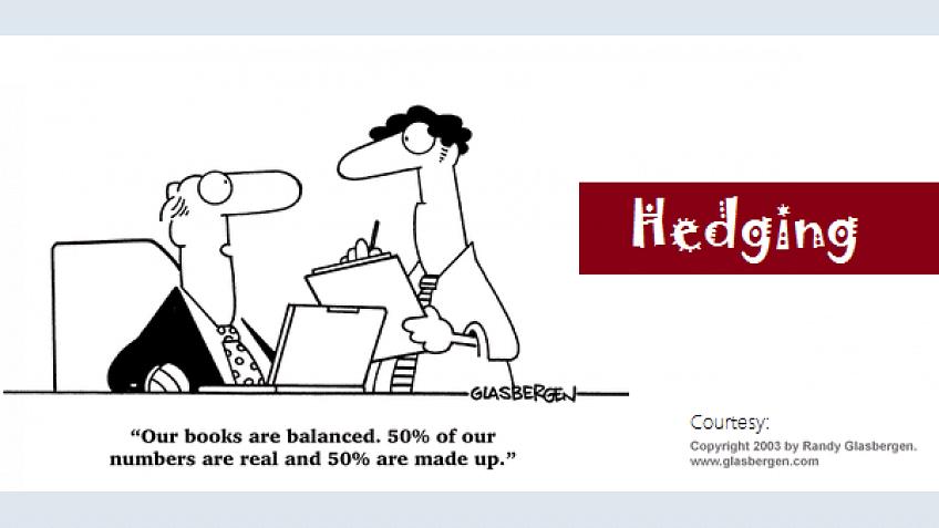 Hedging: um benefício ou uma maldição
