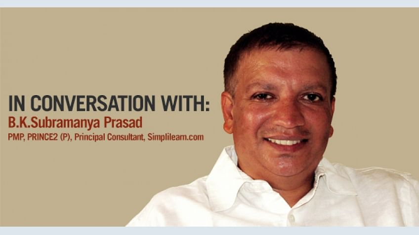 Re-skilling will always keep a person up to date: In Conversation with BKS Prasad | Simplilearn