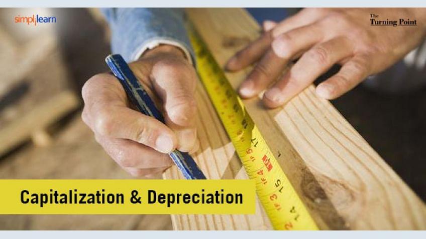 Efeitos da capitalização e depreciação sobre as demonstrações financeiras