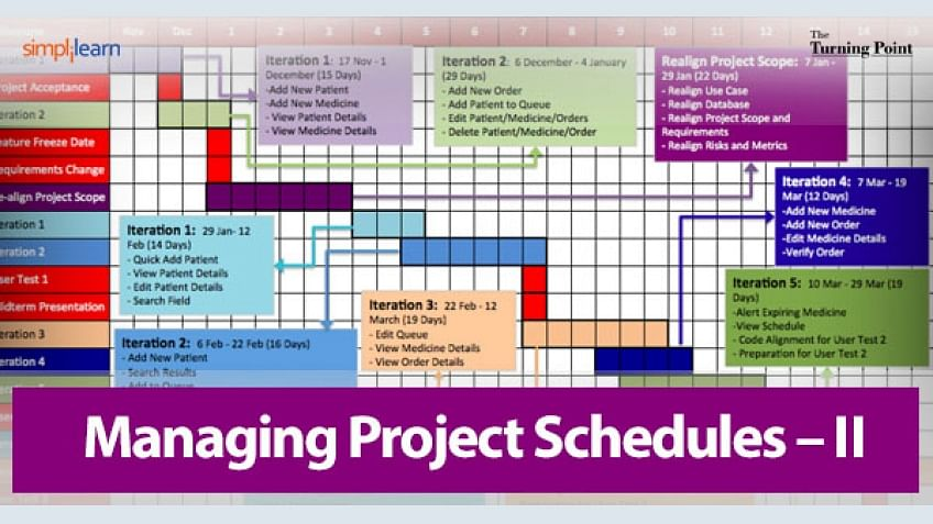 Sample Schedules Project Schedule Level Of Schedule In Planning
