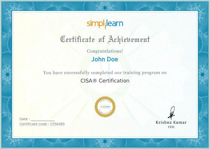 CISA Certification Training Course