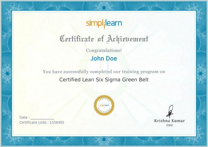 Lean Six Sigma Green Belt Certification Training