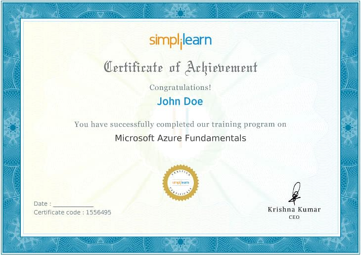 Microsoft Azure Fundamentals Training