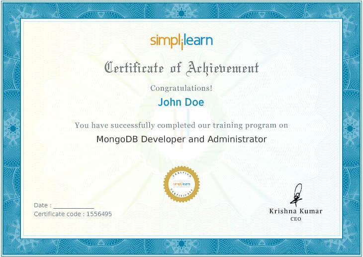 MongoDB Developer and Administrator Certificate
