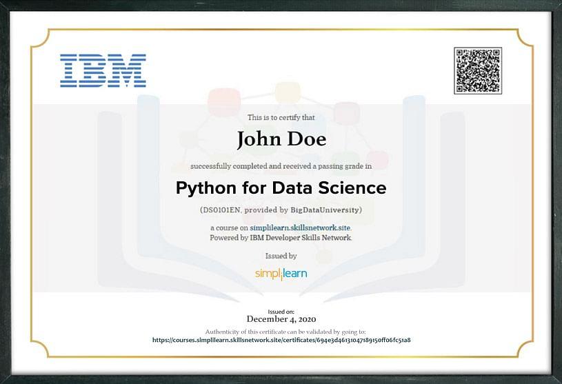 ai certification machine learning ibm certificate program training engineering graduate simplilearn certificates