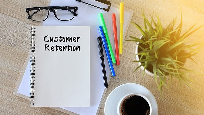 Customer Retention on paper