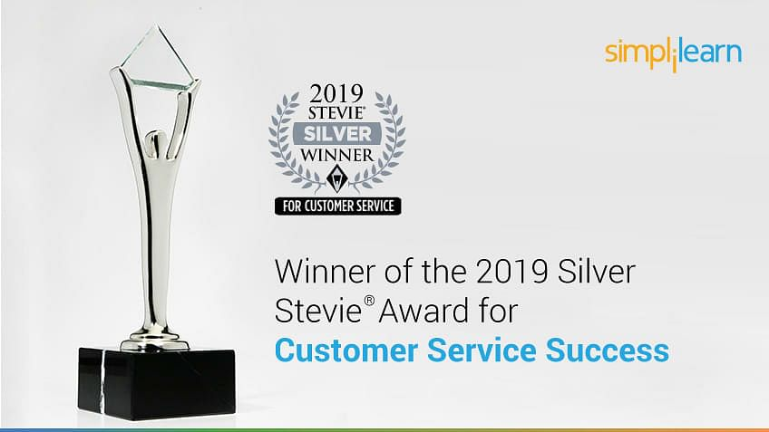 Simplilearn Wins 2019 Stevie® Award for Customer Service Success