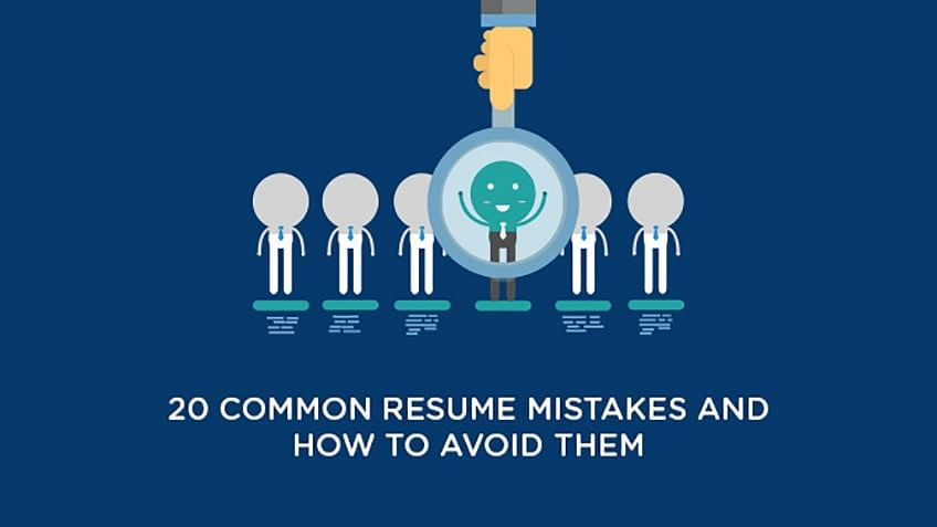 20 Common Resume Mistakes And How To Avoid Them