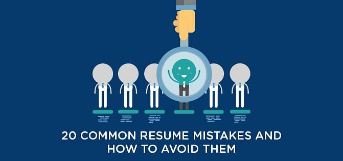 How To Avoid Common Resume Mistakes  Simplilearn