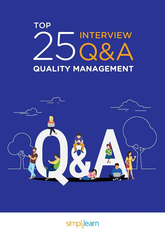 Free ebook top 25 quality management interview questions answers about the e book fandeluxe