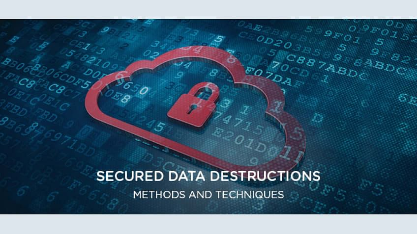 Secured Data Destructions – Methods and Techniques