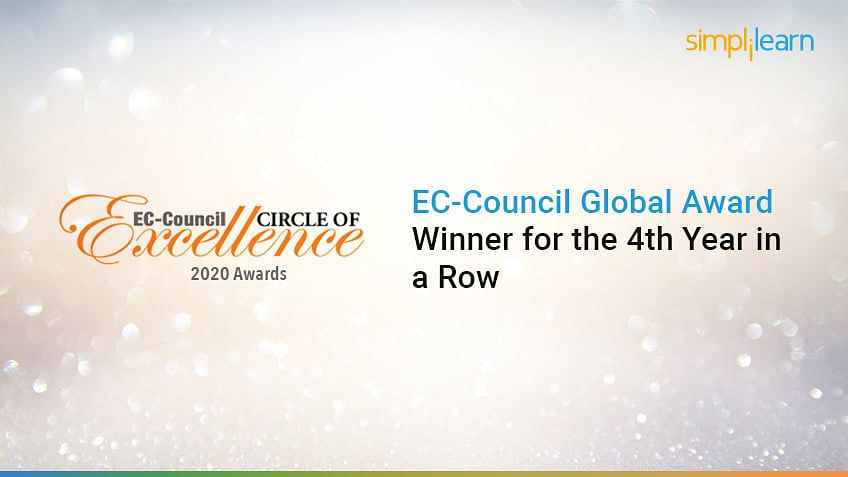 Simplilearn Wins EC-Council Global Award for the Fourth Year in a Row