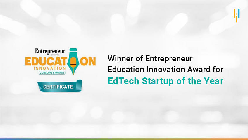 Simplilearn Wins Entrepreneur Education Innovation Award for EdTech Startup of the Year