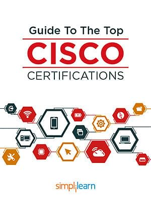 Download our eBook on CISCO's top certifications