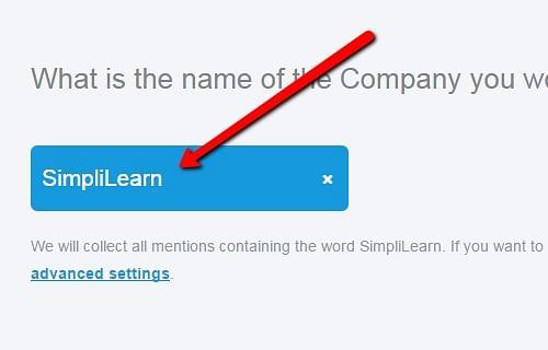 Nome da empresa