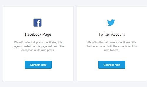 Conecte sites sociais
