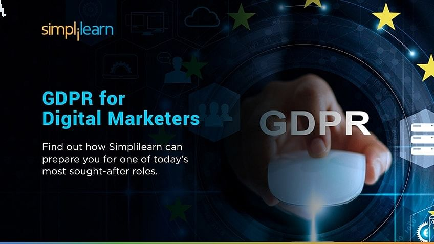 Course Announcement: GDPR for Digital Marketers