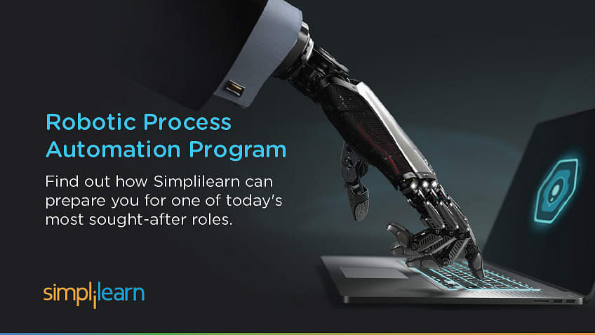 New Course Announcement: Simplilearn's Robotic Process Automation Program