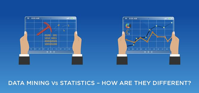 Data Mining vs. Statistics - How Are They Different?