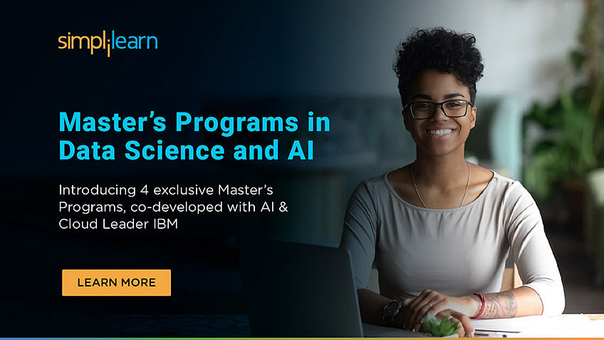 Introducing Masters Programs in Data Science and AI, Co-developed with IBM