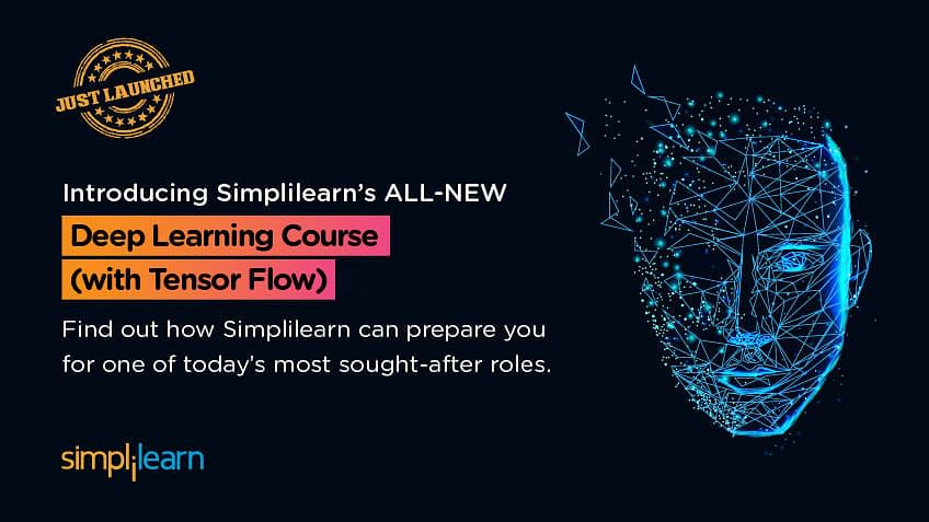 Course Announcement: Simplilearn's Deep Learning with TensorFlow Certification Training