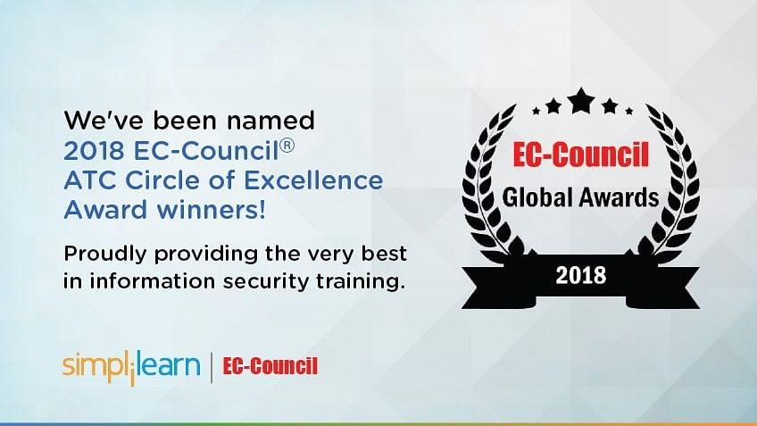 Simplilearn Wins EC-Council ATC Circle of Excellence Award