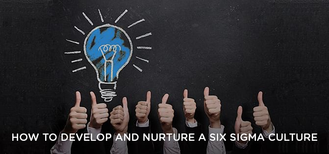 How to develop and nurture a Six Sigma Culture