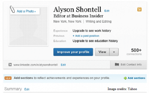 are you linked in yet? all about knockout linkedin profiles ...