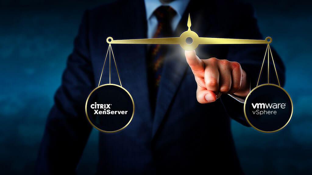 Citrix XenServer vs VMware VSphere
