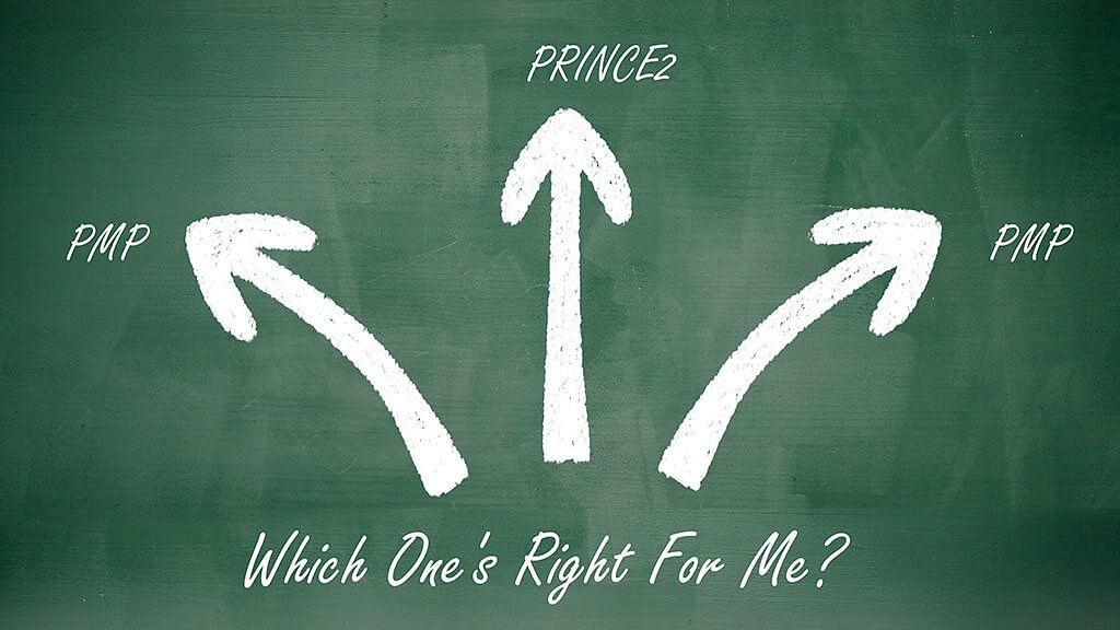 PMP® vs PRINCE2 vs CAPM®: Which One's Right for Me?