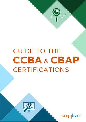 Free eBook: Guide To The CCBA And CBAP Certifications