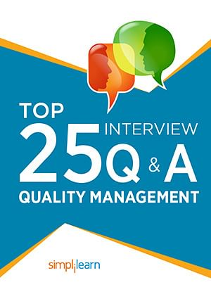 Free eBook: Top 25 Quality Management Interview Questions amp; Answers