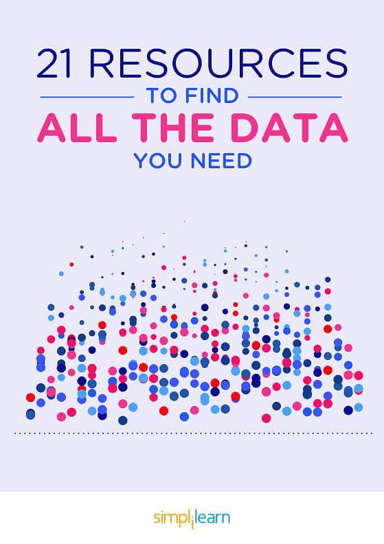 Free eBook: 21 Resources to Find the Data You Need