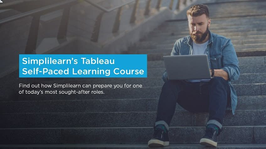 Course Announcement: Simplilearn's Tableau Self-Paced Learning Course