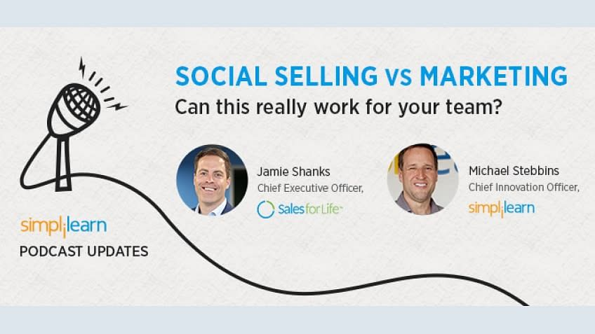 Social Selling Vs Marketing: A career Hack Podcast