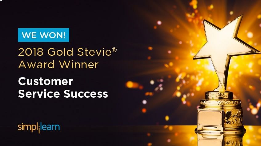 Simplilearn Wins Gold At the 12th Annual Stevie Awards