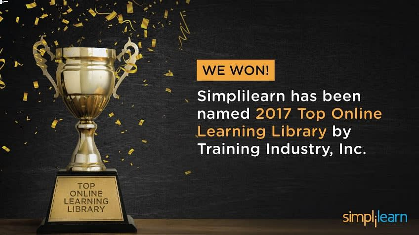 Simplilearn Wins Top 20 Online Learning Library Companies of 2017