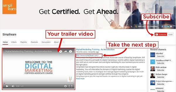 Trailer videos Simplilearn