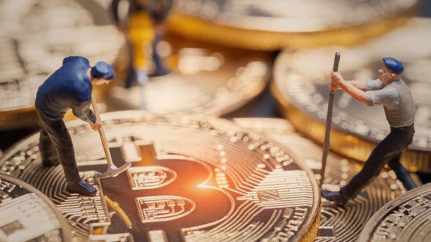 Broker minier bitcoin