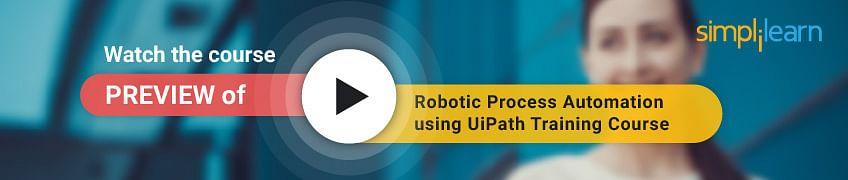 RPA UiPath课程预览