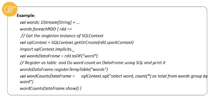 dataframe and sql operations