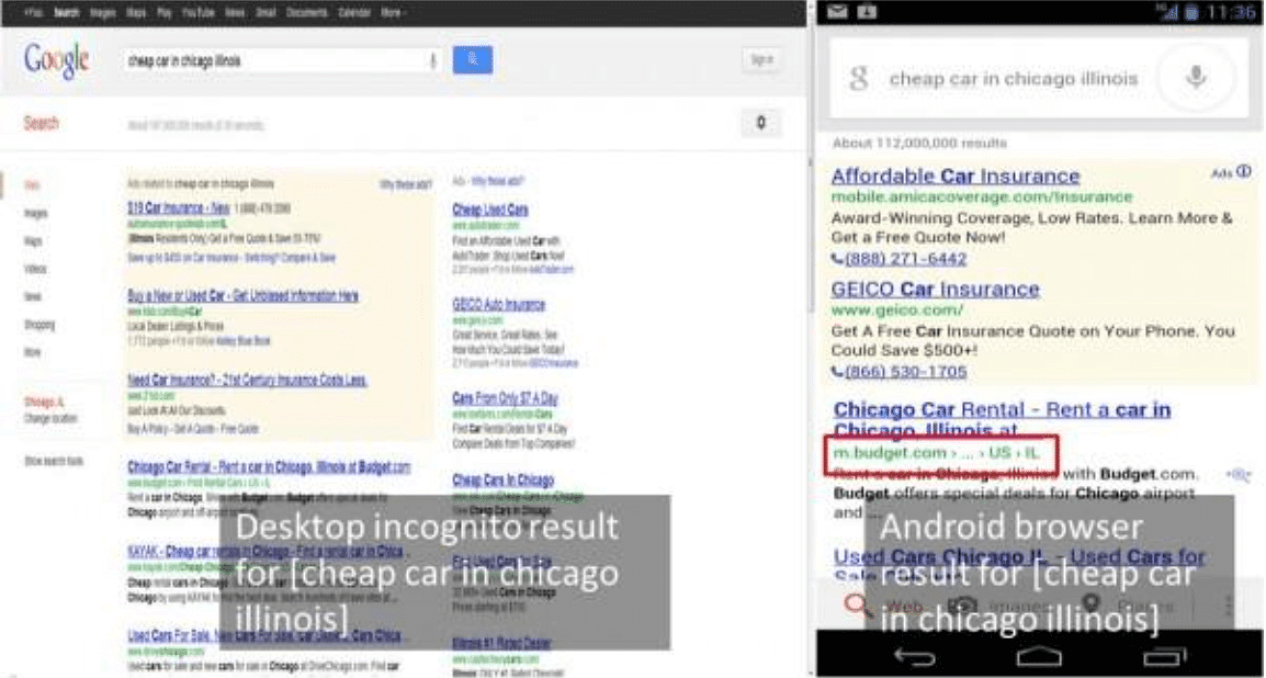 This Is Why Search Results Change Between Browsers Market Motive Blog