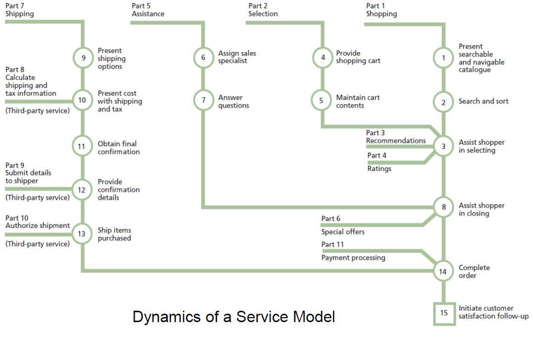 dynamics of service model