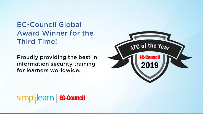Simplilearn Wins EC-Council Global Award for the Third Year in a Row